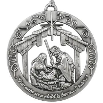RM - Ornament - Nativity<BR/>「ネイティヴィティ(キリストの降誕)」オーナメント