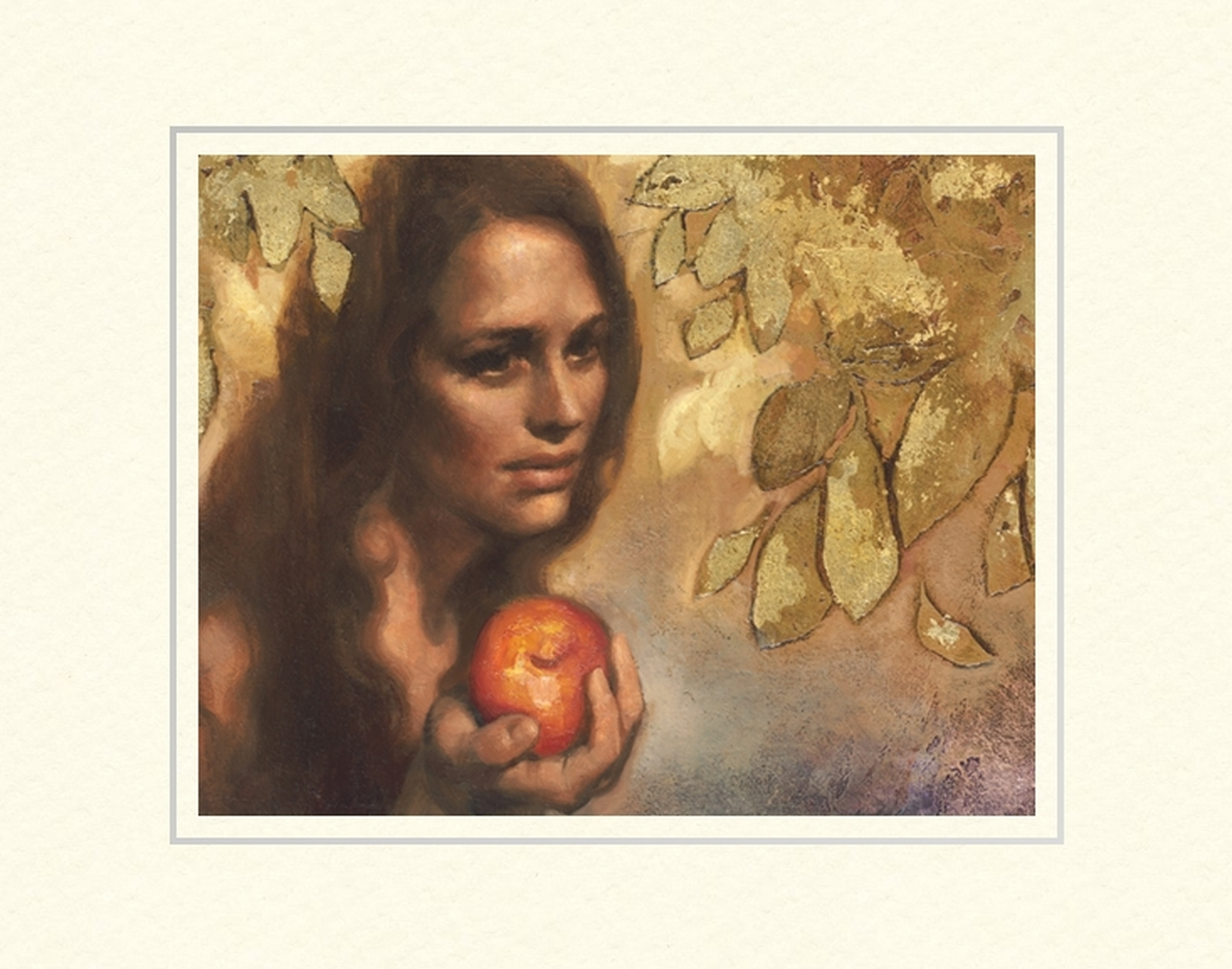 AF -11×14 Print - Leaving Eden / 11x14 matted/Annie Henrie Nader <BR>エデンの園を去る 11×14 マットプリント