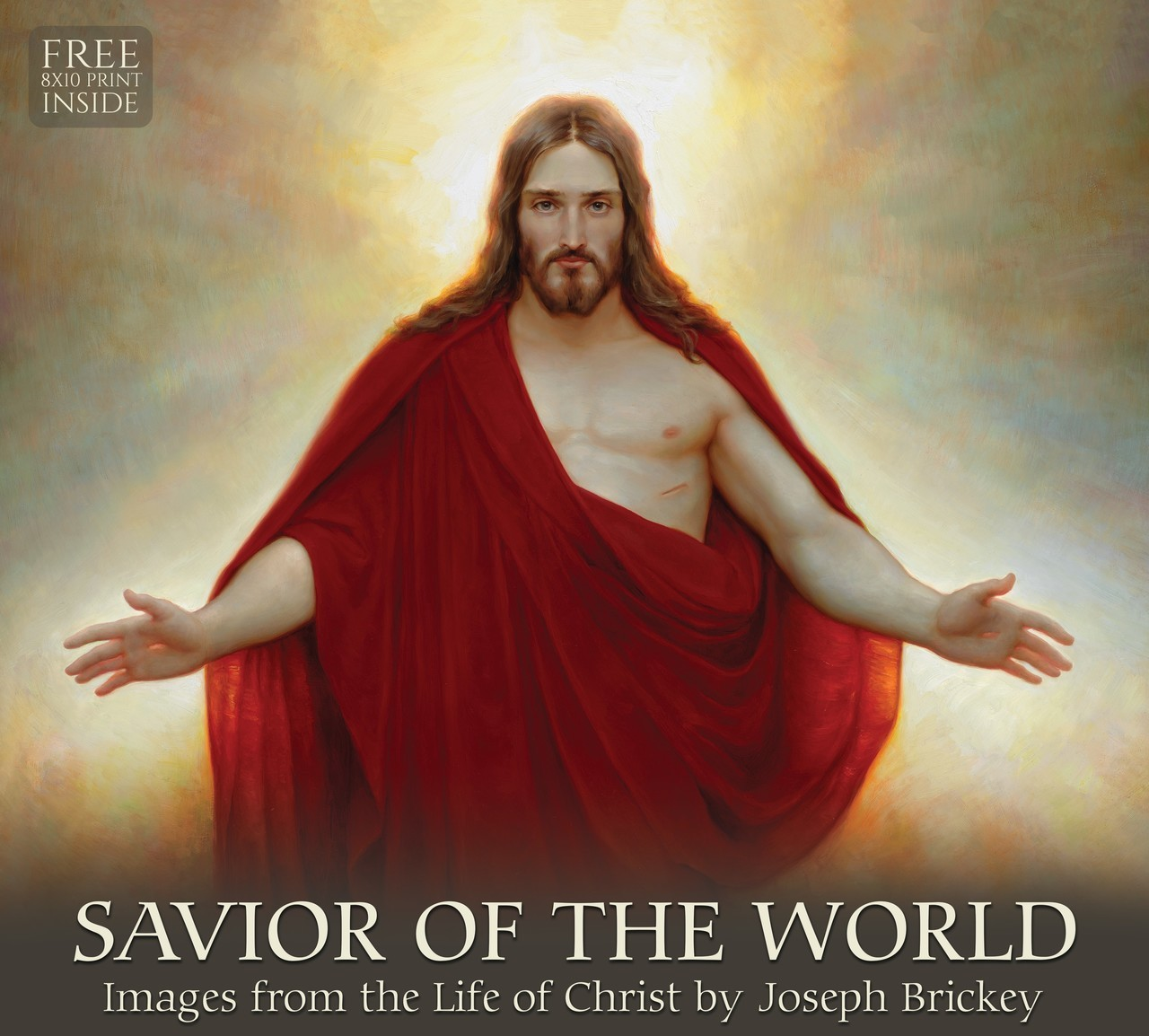 AF - Calendar - 2019 Joseph Brickey Calendar - Savior of the World<BR>2019年 ジョセフ・ブリッキー カレンダー Savior of the World 【壁掛け】