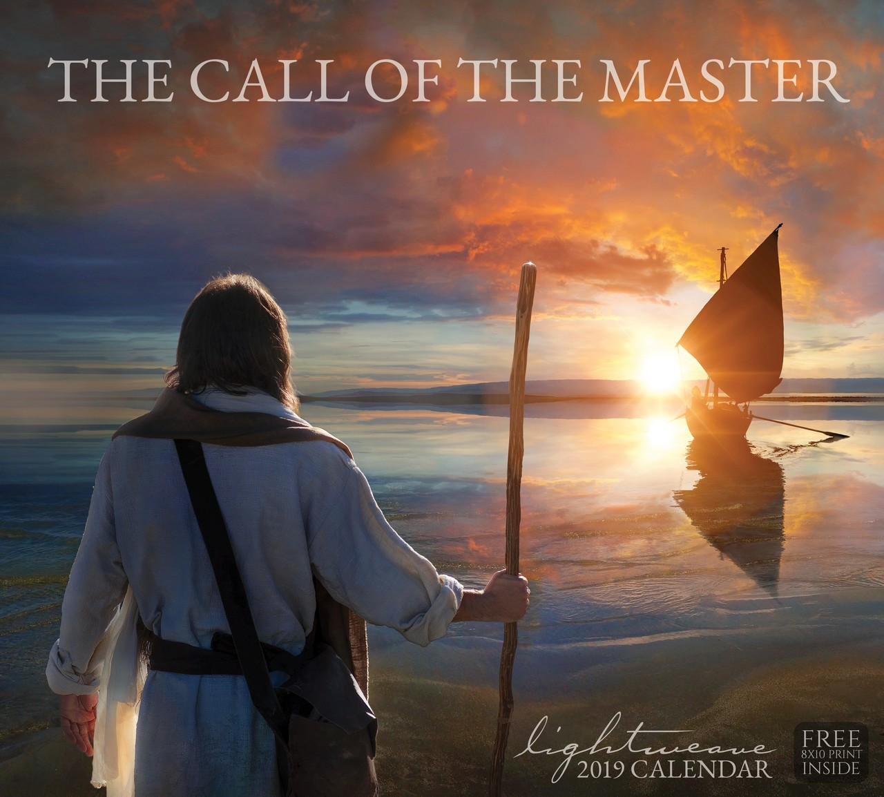 AF - 2019 Kelsy and Jesse Lightweave Calendar - The Call of the Master<BR>2019年 ケルシー&ジェシー ライトウィーブ The Call of the Master (Free 8X10 Print Inside) 【壁掛け】