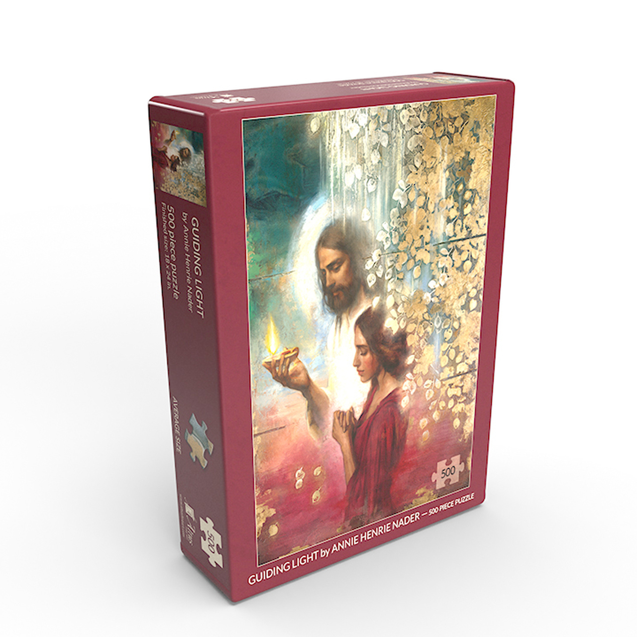 AF - Jigsaw Puzzle - Guiding Light 18x24 jigsaw puzzle 500 pieces by Annie Henrie Nader- 「導く光」(500ピース) - ジグソーパズル