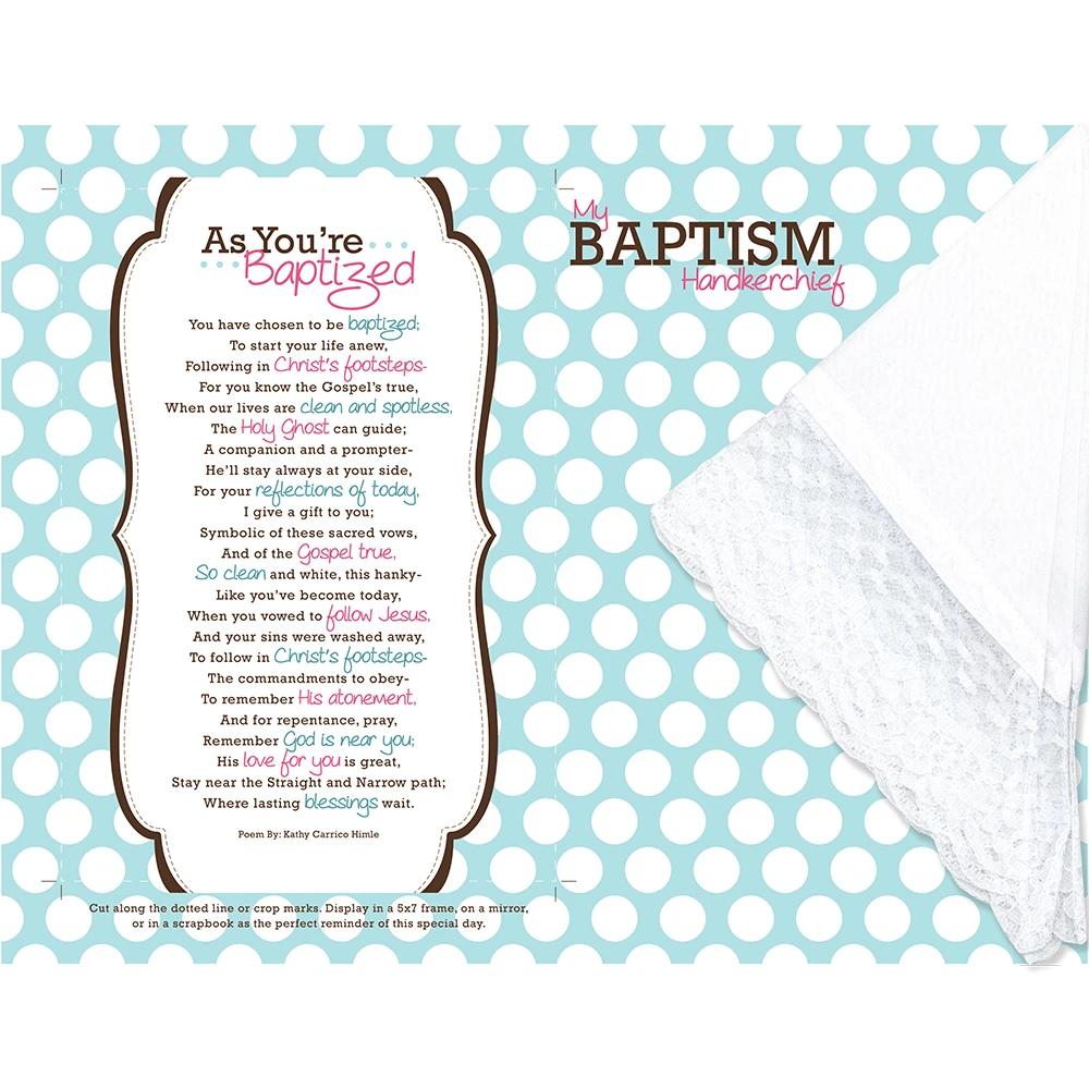 RM - Handkerchief - As You're Baptized Handkerchief<BR/>バプテスマハンカチセット