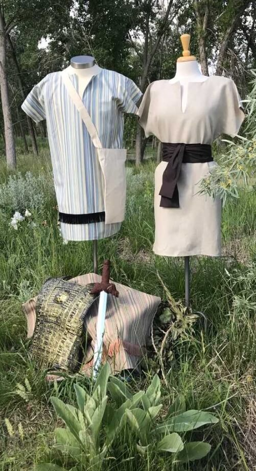 WE -Book of Mormon Quest and Shepherd Costumes <BR>モルモン書・羊飼い風服装
