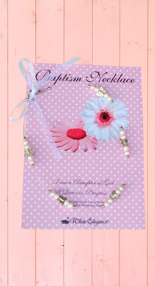 WE - Necklace - Baptism Butterfly Necklace <BR>バプテスマ蝶々ネックレス