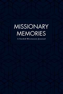 CC - Missionary Journal - Missionary Memories: A Guided Missionary Journal - Elder (長老用) 【日本在庫5点】