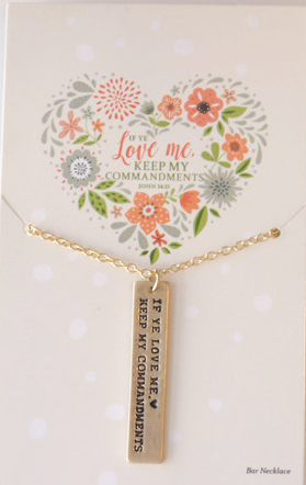 CC - Necklace - If ye love me gold Necklace <BR>2019年テーマ ネックレス「わたしを愛するならば…」