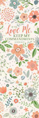 CC - Bookmark - If Ye Love Me, Keep My Commandments: 2019 YW Theme Items - Bookmark<BR>2019年若い女性テーマ - しおり「もしあなたがわたしを愛するならば、わたしのいましめを守るべきである。」