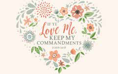 CC - Recommend Holder - If Ye Love Me, Keep My Commandments: 2019 YW Theme Items - Recommend Holder<BR>2019年若い女性テーマ - 神殿推薦状ケース 「もしあなたがたがわたしを愛するならば,わたしのいましめを守るべきである。」