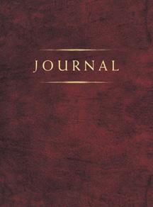 CC - Journal - Small Classic Journal Burgundy<br>クラッシック日記帳 小 赤紫