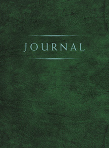 CC - Journal - Small Classic Journal Green<br>クラッシック日記帳 小 緑