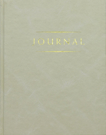 CC - Journal - Small Classic Journal Ivory<br>クラッシック日記帳 小 アイボリー