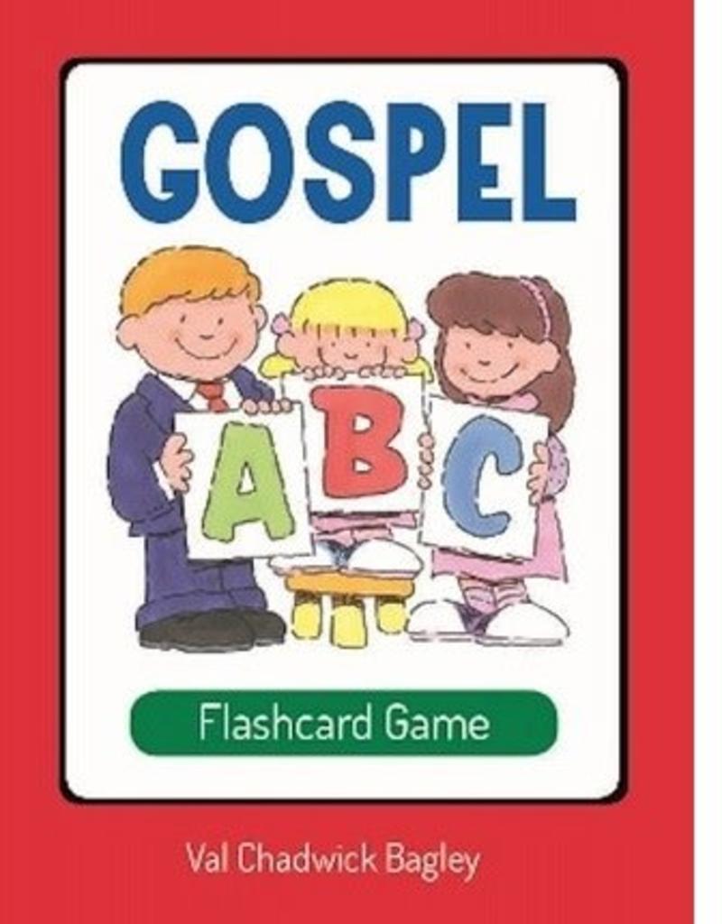 CC - Cards - Gospel ABC Flashcard Game <BR>ゴスペル ABC フラッシュカードゲーム 【日本在庫わずか】