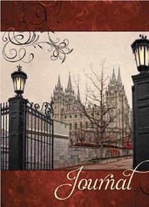 CC - Journal - Endurance Salt Lake Temple Lamps 日記帳 by Robert A. Boyd