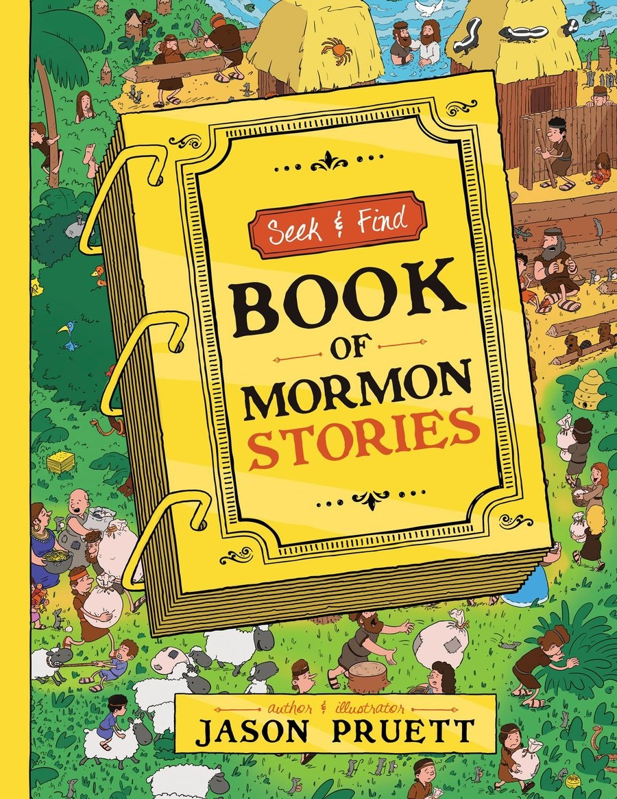 CF - Games - Seek and Find: Book of Mormon Stories - Hardcover<BR>モルモン書物語登場人物探し-ハードカバー本