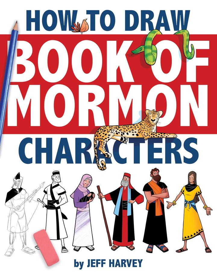 CF ー Paperback - How to Draw Book of Mormon Characters <BR>ワークブック - モルモン書キャラクターの書き方
