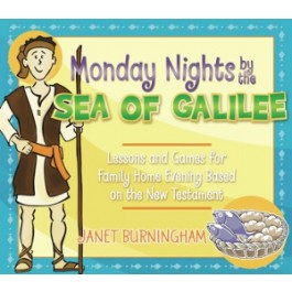 CF - Book - Monday Nights by the Sea of Galilee by Janet Burningham 【在庫限りあと1点】