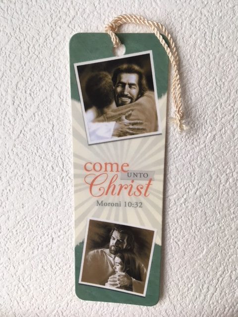 CF - Bookmark - Come Unto Christ<BR>しおり - キリストのもとへ来なさい 【在庫1点限り】