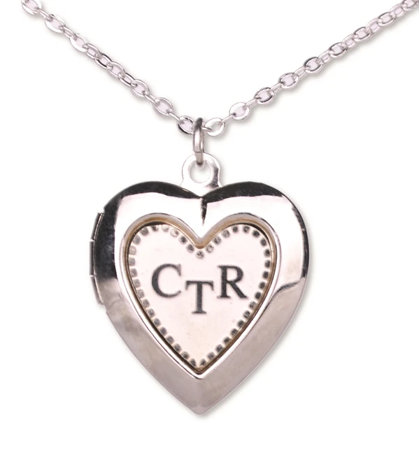 CF-Necklace-CTR - Necklace - Locket - Heart - Silver <BR>CTRネックレス ハート(ロケットタイプ)