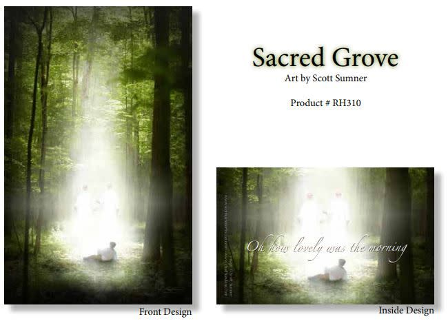 CH - Recommend Holder - Sacred Grove by Scott Sumner<BR>神殿推薦状ケース 「聖なる森」スコット・サムナー