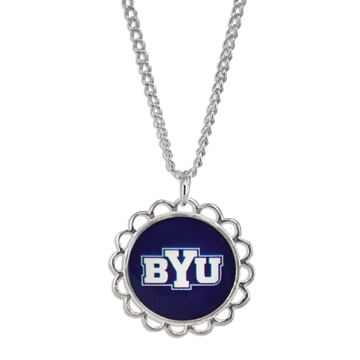 RM - Necklace - BYU Domed Necklace