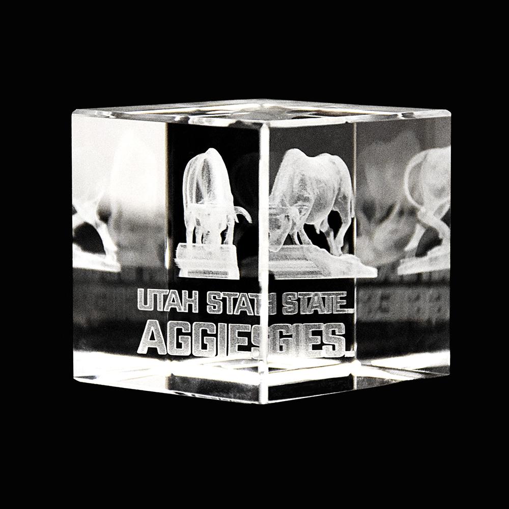 RM - Temple Crystal Cube - Utah St. Cube   <BR/>「ユタ州 」クリスタルキューブ