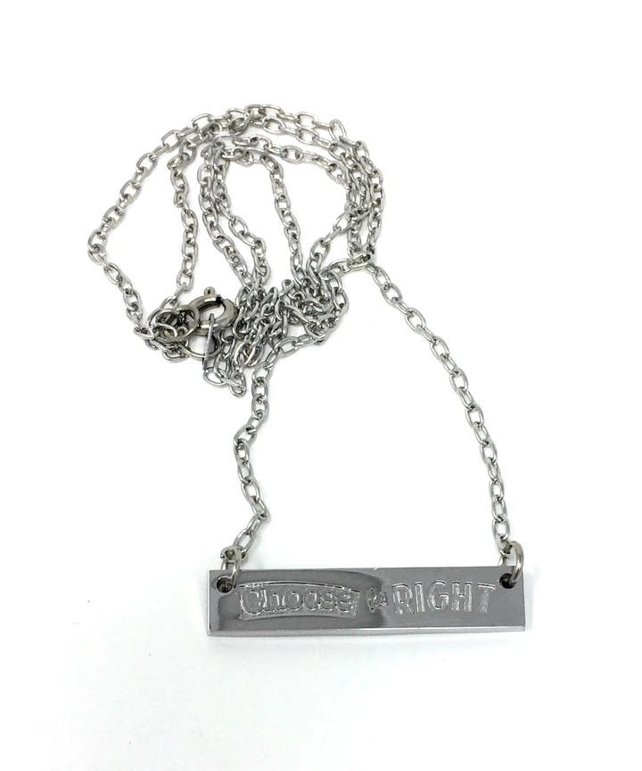 CF - Necklace - Choose the Right - Necklace<BR>「Choose the Right(正義をえらべ)」ネックレス
