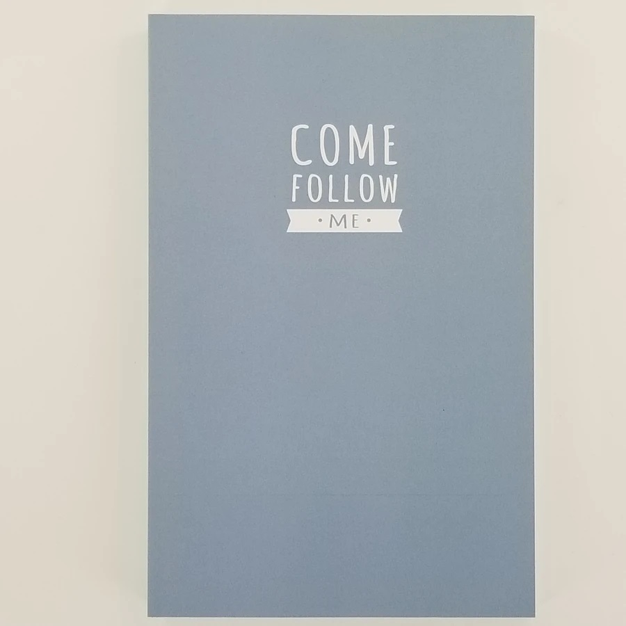 CF - Journal - Come Follow Me Journal - Light Blue(ライトブルー)<BR>「わたしに従ってきなさい」 日記帳