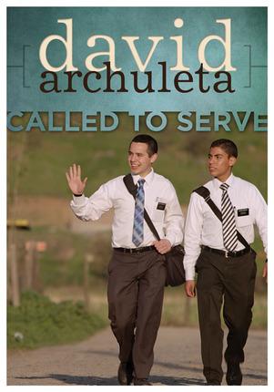 DB - DVD - David Archuleta: Called to Serve  ディビッド・アーチュレッタ【在庫限りあと1点】