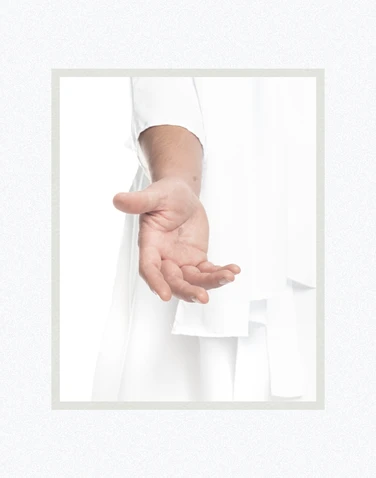 AF - 8x10 - Print - His Hand is Stretched Out Still by Evan Lurker - 8x10 - Print - 8x10 print matted to 11x14<BR>彼の手は今も差し出されている 27.9 cm x 35.6 cm