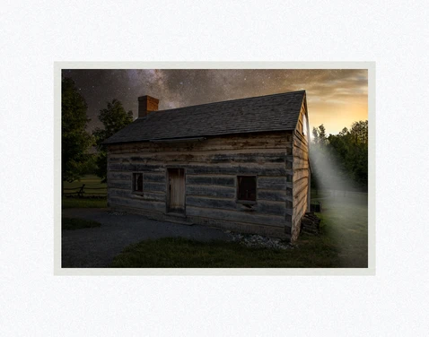 AF - 7x10.5 - Print - The Whole of That Night by Evan Lurker - 7x10.5 - Print - 7x10.5 print matted to 11x14<BR>あの夜の全て 27.9 cm x 35.6 cm
