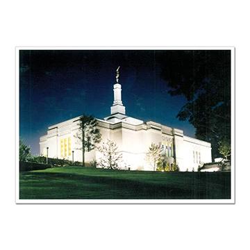 "RM -  5 x 7 Print - Winter Quarters Nebraska 5 x 7"" <BR/>ネブラスカ州ウィンタークオーターズ神殿(ラウラ・デービス画) プリントカード5 x 7"""