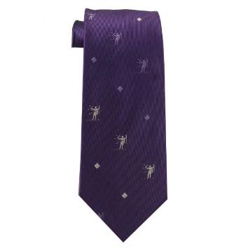 JB - Tie - Mens Samuel the Lamanite Book of Mormon Purple Tie<BR>ネクタイ(成人) レーマン人サムエル (パープル色)
