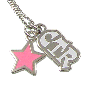 RM - Necklace - CTR Pink Star<BR>CTRピンクスターネックレス