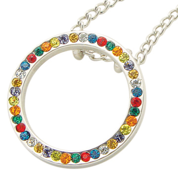 RM - Necklace - Young Women Values Circle Necklace<BR>若い女性の信条サークルネックレス