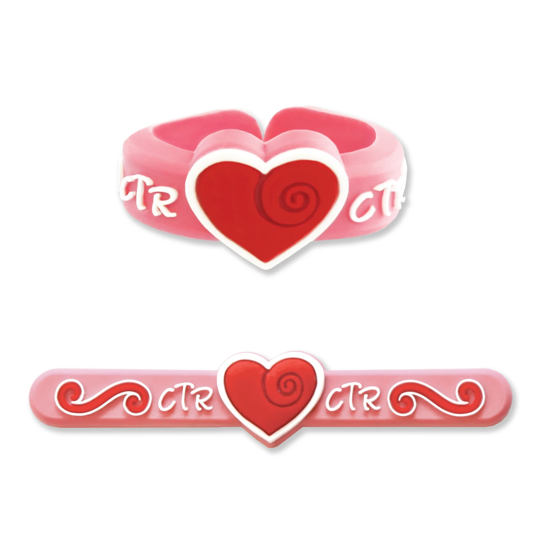 RM - CTR Ring - Heart Adjustable Ring <br>CTRリング フリーサイズ (ハート)