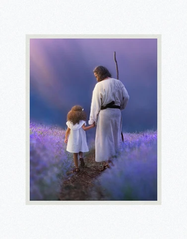 AF -8x10 Print - Guardian by Kelsy and Jesse Lightweave - 8x10 - Print - 8x10 print matted to 11x14<BR>守護者 11×14 マットプリント