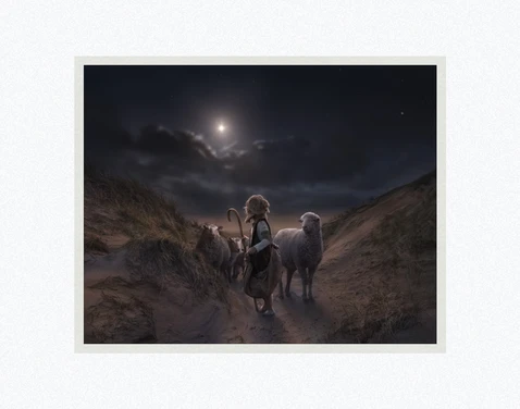 AF - 8x10 - Print - Signs and Wonder by Kelsy and Jesse Lightweave - 8x10 - Print - 8x10 print matted to 11x14 <BR>しるしと不思議 27.9 cm x 35.6 cm