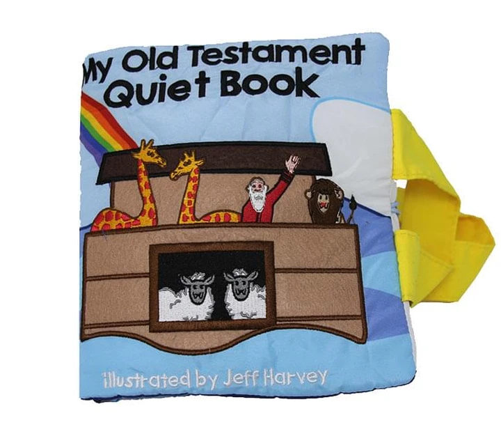 CF - Quiet Book - My Old Testament Quiet Book<BR>布絵本 私の旧約聖書