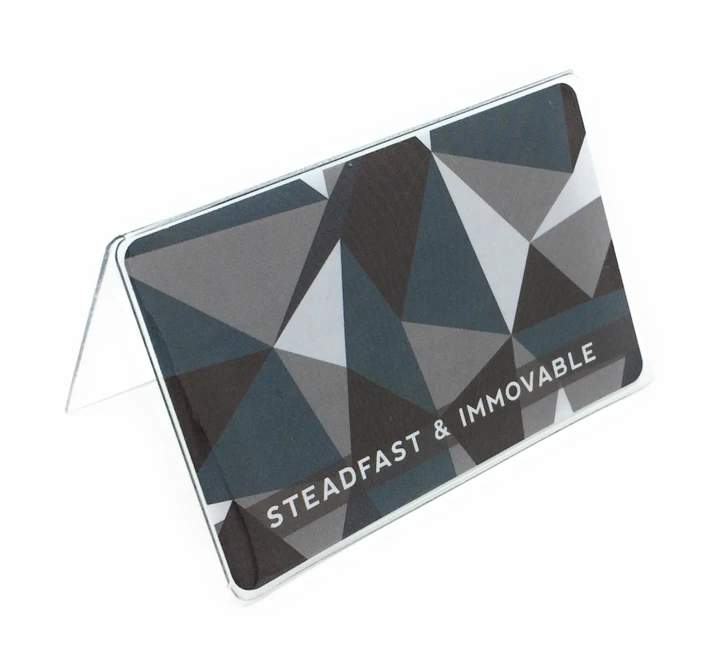 CF - Temple Recommend Holder - Steadfast and Immovable - Temple Recommend Holder<BR>神殿推薦状ケース「確固として揺らぐことがない」