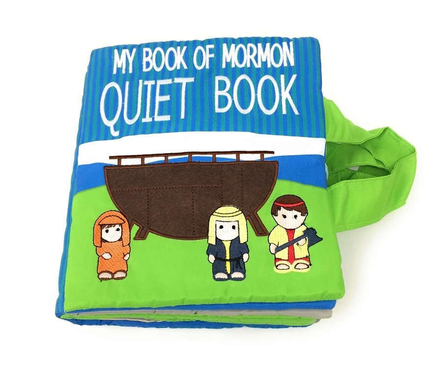 CF- Book - My Book of Mormon Quiet Book<BR>モルモン書(赤ちゃん用ソフトブック・遊べる本)