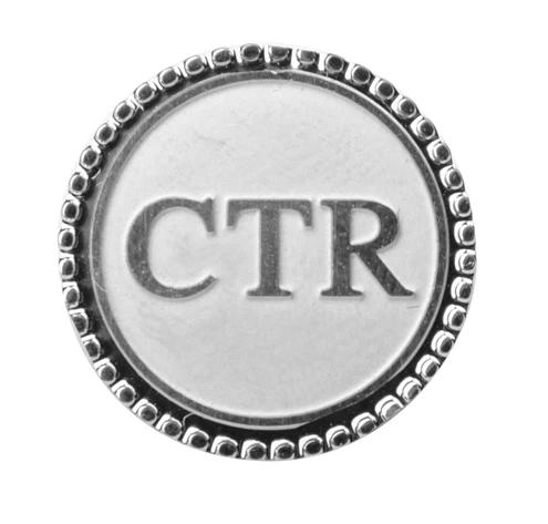 CF - Tie Tack - Choose the Right - Tie Tack - Silver<BR/>   タイピン/「正義を選べ」(シルバー)
