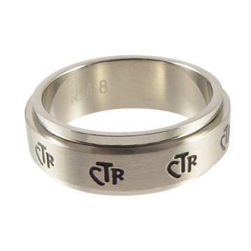 (サイズ限定US 8.0)RM - CTR Ring - CTR Spinner Narrow SS  スピナー ナロー 【在庫1点限り】