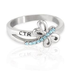 (サイズ限定US 6.0)RM - CTR Ring - Dragonfly CTR Ring<BR>CTRリング トンボ (ステンレス製) 【日本在庫商品】