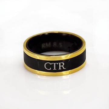 (サイズ限定US 7.5)RM - CTR Ring - Diplomat CTR Ring<BR> CTRリング ディプロマット(ステンレス製)【在庫限り】