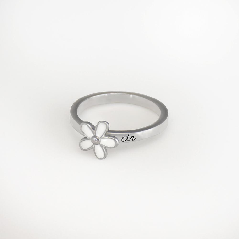 (サイズ限定US 5.5)RM - CTR Ring - Daisy<BR> CTRリング - デイジー(ステンレス製) 【日本在庫商品】