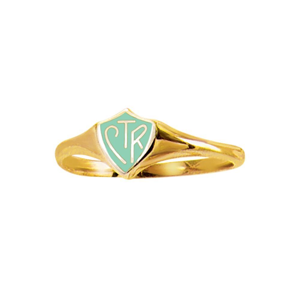 RM - CTR Ring - CTR Classic Mint Gold Ring<BR>CTRリング ミントゴールド (ステンレス製)