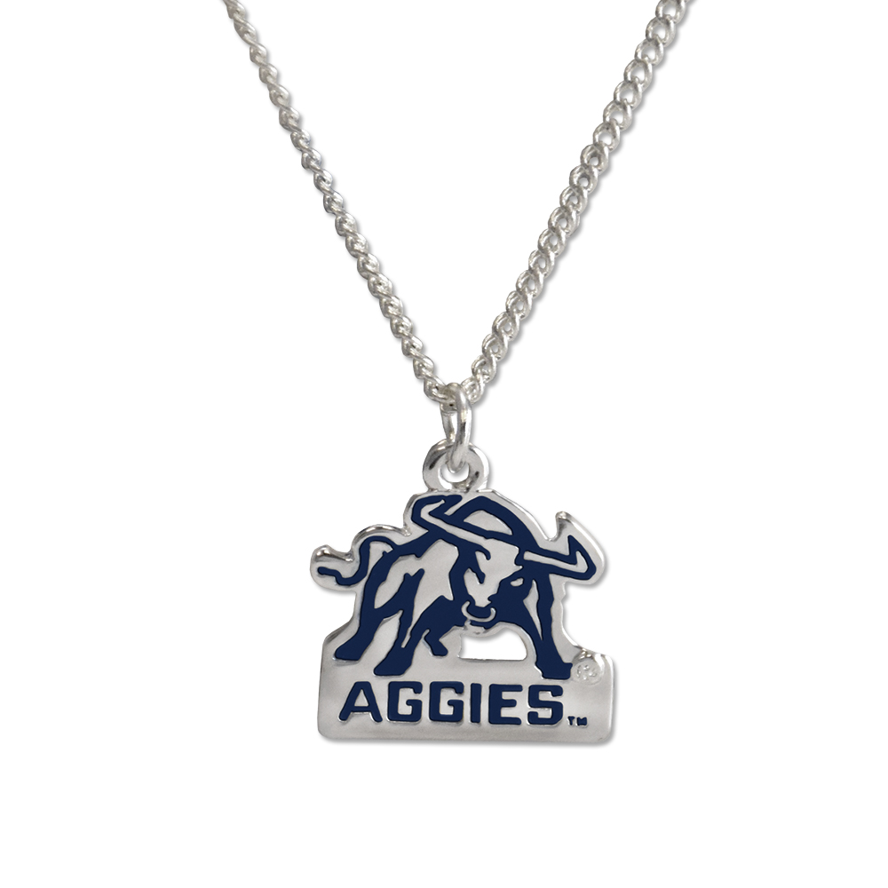 RM - Necklace - USU Aggie Fan <BR>USU(ユタ州立大学)公式マーク アギーファン ネックレス