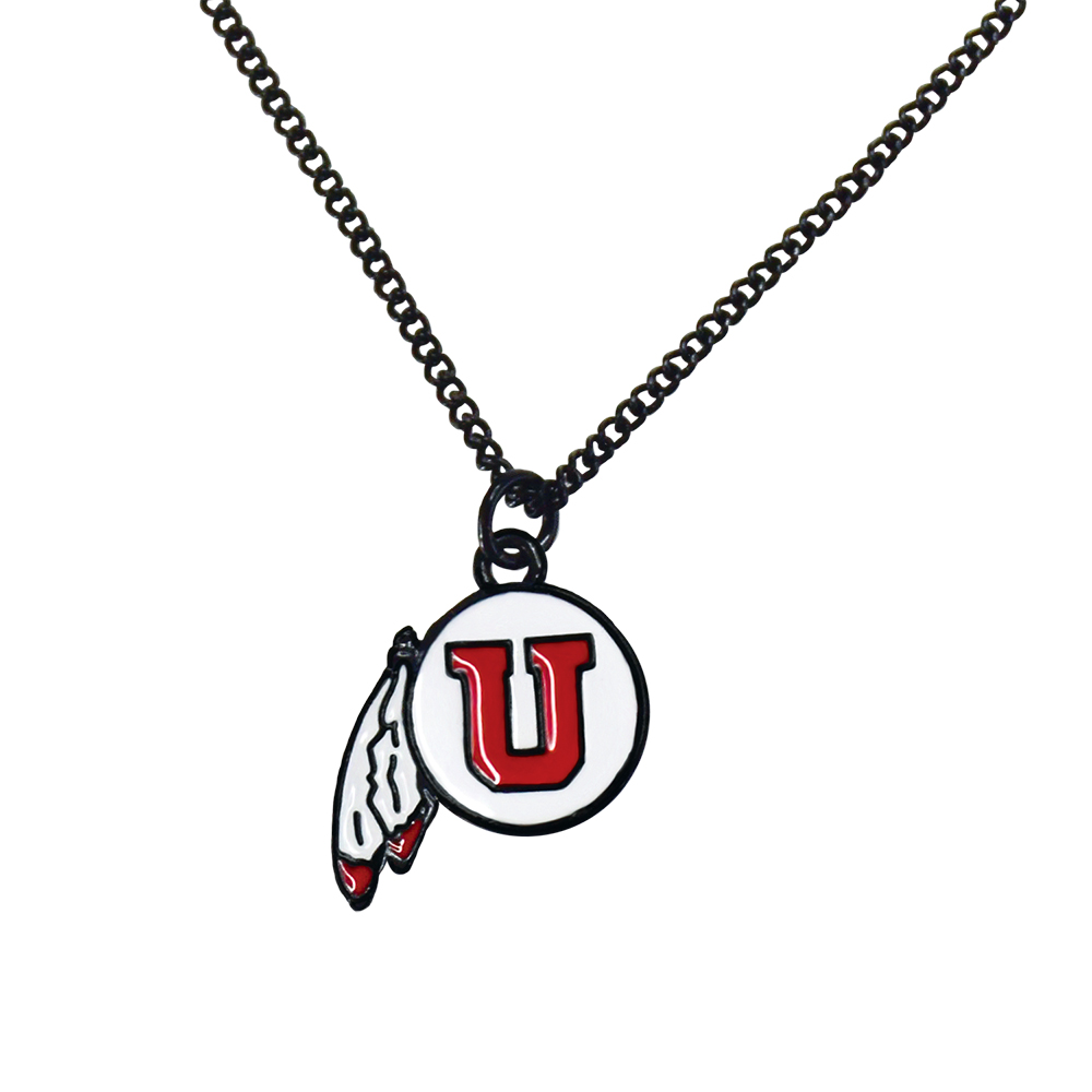 RM - Necklace - Ute Fan Necklace <BR>ユタ大学公式マーク ネックレス(羽)