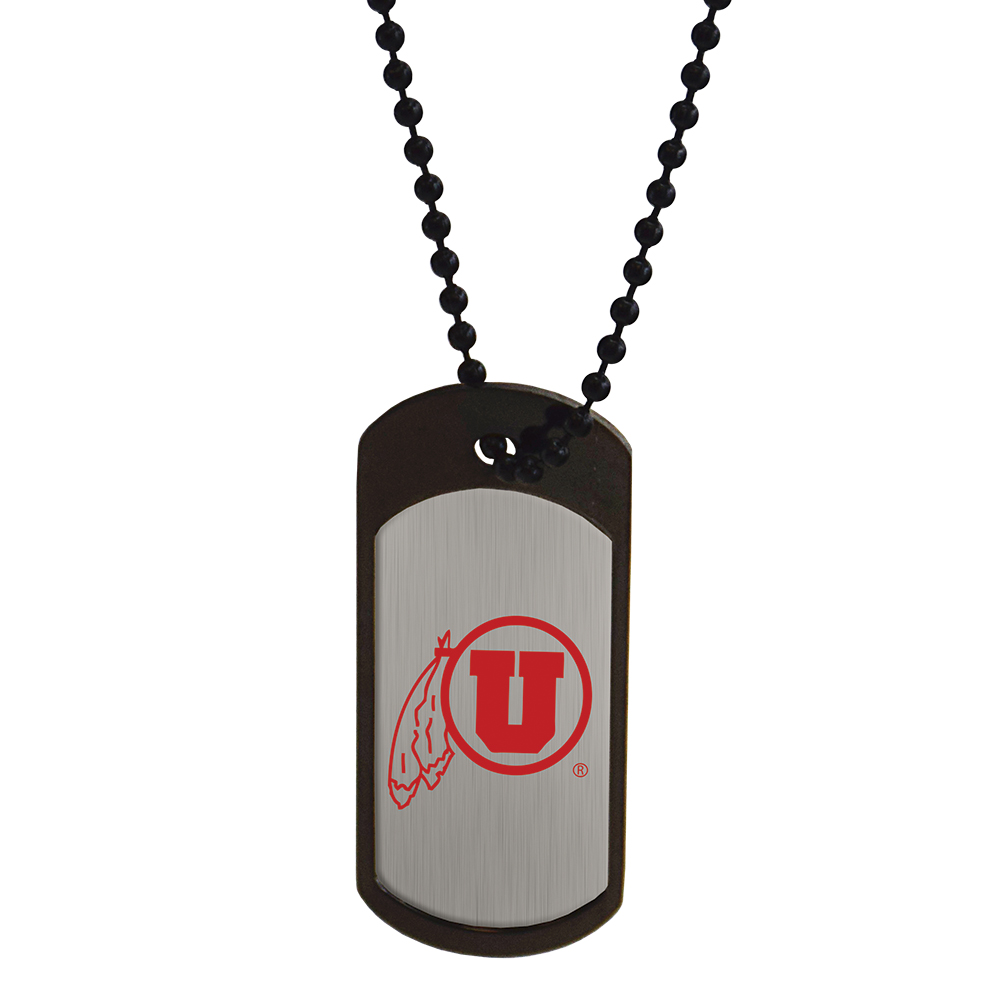 RM - Necklace - Utah Dogtag  <BR>UofU(ユタ大学)公式マーク ドッグタグネックレス