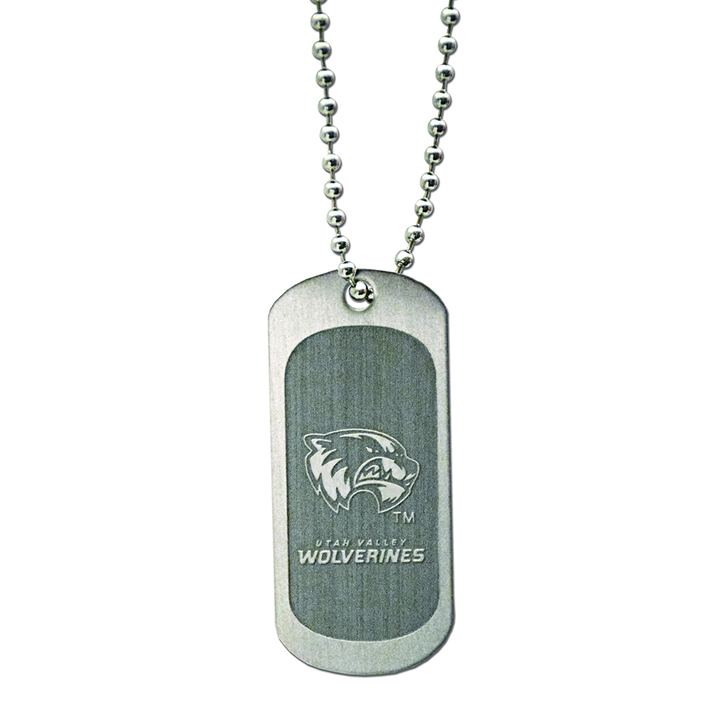 RM - Necklace - UVU Dog Tag Necklace <BR>UVU(ユタ ヴァレー大学)公式マーク ドッグタグ ネックレス